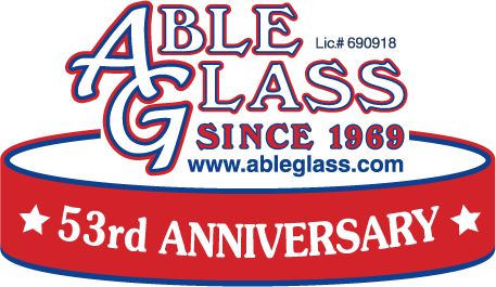 Able Glass logo